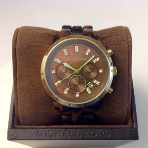 Michael Kors Tortoise Shell Watch!